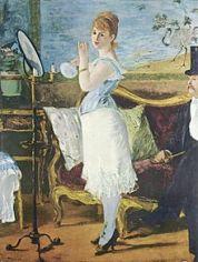 Nana, Edouard Manet