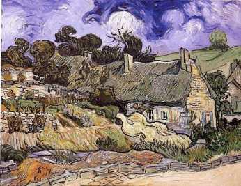 Maisons à Auverss, Van Gogh