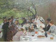 Repas de noces à Yport, Albert-Auguste Fourie